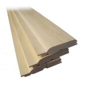 Вагонка осина высший сорт, 45*15 мм