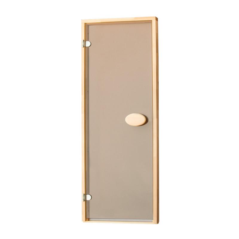 Двери для сауны стандартные, матовые 70*200 см 8 мм в Украине
