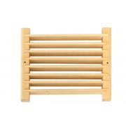 Вентиляционная решетка для бани липа, ольха