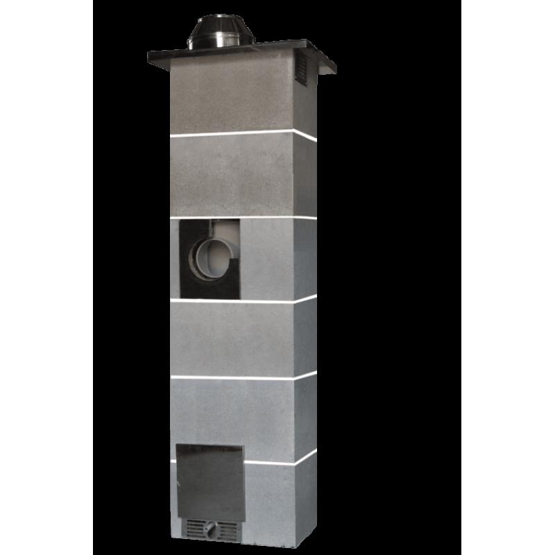 Дымоходная система Jawar Uniwersal Plus с вентиляцией 6м в Украине