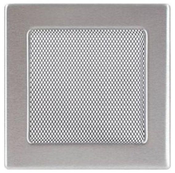 Фото металлической вентиляционной решетки для каминов