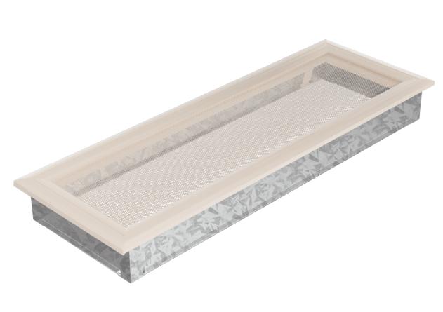 Пример прямоугольной вентиляционной решетки для камина